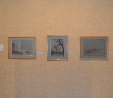 Johann Berthelsen Artwork Exhibit